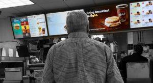 how digital menu boards affect consumer decision