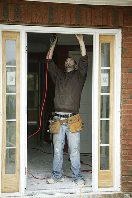 manual door maintenance