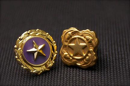 affiliation lapel pins