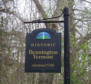 bennington vermont signage